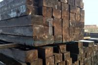 Шпала деревянная хвойных пород