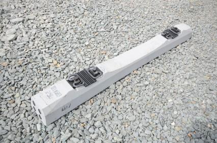 Крепления на железобетонных шпалах размер дорожных плиты